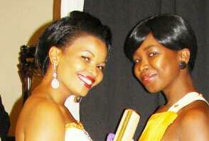 Nqobile with her favourite Princess